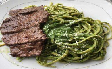 receta-tallarines-verdes