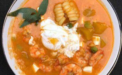 receta-chupe-de-camarones